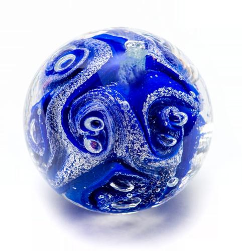 lapis (blu) - argint
