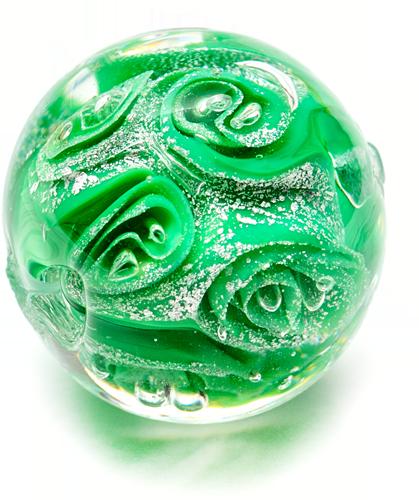 verde - argint